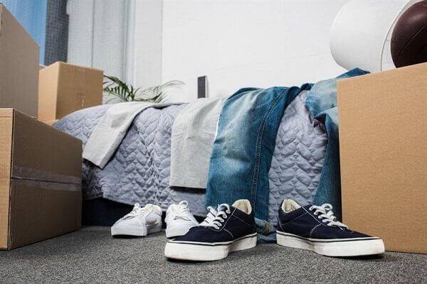 הובלת חדר שינה קומפלט