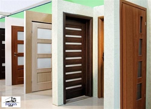 הובלת דלתות כולל פירוק והרכבה